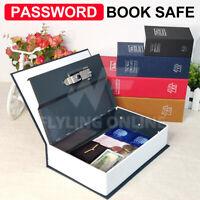 Dictionary Book Password Lock Safe M Security Box Secret Storage Cash Jewellery