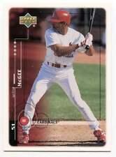 Willie McGee Baseball Card 7 Upper Deck 1999 St. Louis Cardinals McDonalds