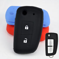 Silicone Remote Key Cover Fit For Nissan Qashqai X-trail Altima Tiida Fob Case