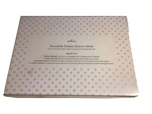Hallmark Recordable Memory Album New In Box 12 X 9 Dated 2005 NOS