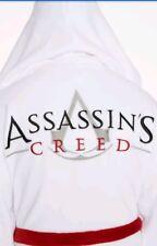 Assassins Creed assassino Accappatoio Bianco Taglia Unica Nuovo di Zecca