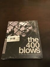 The 400 Blows Blu Ray Criterion Collection French w English Subtitles New Sealed