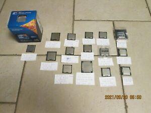Intel Core  i5 / i7 Xeon CPU - Sockel 1150 / 1151 / 1155 / 1156 / 1366 /2011