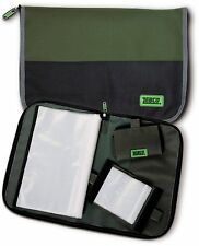 Zebco Rig Wallet / Bag Set - 1 Large + 2 Small Wallets - 8420019