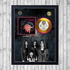 BLACK SABBATH PARANOID CUADRO CON GOLD O PLATINUM CD EDICION LIMITADA. FRAMED