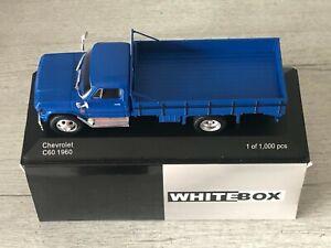 WHITEBOX WB272 Chevrolet C60 Bleu 1960 Camion 1/43