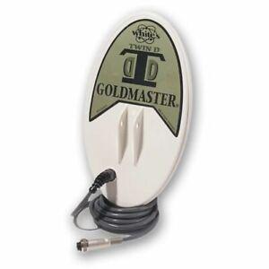 "WhitesGoldmaster DD 6""x10"" Elliptical Search Coil 48 kHz801-3214"