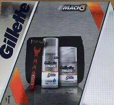 Gillette Mach 3 Razor Set With Wash Bag (ideal for travelling)