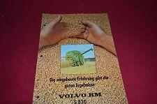 Volvo BM S 830 Combine Dealer's Brochure DCPA2