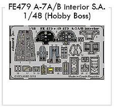 Eduard 1/48 A-7A/B Corsair II Interior self-adhesive # FE479