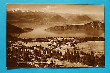 AK Luzern 1910-20 Rigi Kaltbad Gebäude gegen Vierwaldstättersee Ortsansicht !