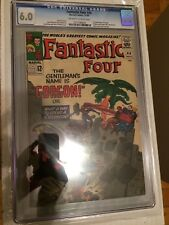 CGC 6.0 Fantastic Four #44 *OW-White*1965*1st App Gorgon*Medusa & Dragon Man App