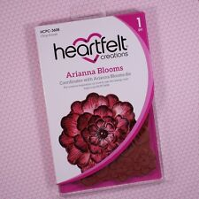Heartfelt Creations Cling Rubber Stamp Set Arianna Blooms, HCPC3608 ~ NIP