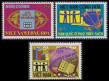 VIETNAM du SUD N°446/448** Année du livre, 1973 South Viet Nam SC# 441-443 MNH