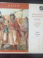 Liszt Hungarian Rhapsodies  Balint Vazsonyi Piano STPL 512340 Stereovox