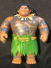 "2015 Hasbro Disney Moana Maui Mega Action Figure Doll, 10.5"""