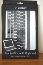 NiceDevice Mobile Bluetooth Keyboard for iPad 2,3 and 4