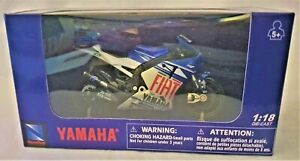 YAMAHA M1 NewRay 1:18 Scale Die-Cast YAMAHA M1 Collection Motorcycle Model