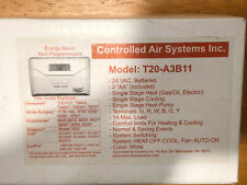 Controlled Air Systems T20-A3B11 Non-Programmable Thermostat New