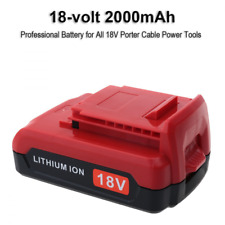 Biswaye 18V 2.0Ah Lithium Ion Replacement Battery for Porter Cable Cordless