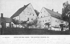 Ephrata Pennslyvania Sister and Saal House Antique Postcard J52948