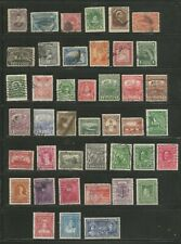 Nice small lot mostly used Newfoundland 1800's-1940's inc BOB -nice cancels