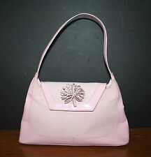 Leather Purse Handbag Shoulder Bag Sling Pink NATURALIZER  Made in Brazil