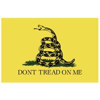 Don/'t Tread On Me Gadsden Flag Vinyl Sticker Car Truck Window Decal USA Gun 2nd
