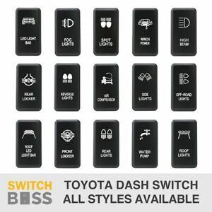 Push Switch LED 35 STYLES Toyota LARGE OEM Replacement Landcruiser Prado Hilux