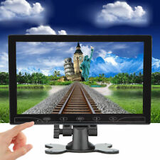 "1024x600 Mini 10"" LCD HD CCTV PC Monitor Screen AV/VGA/HDMI for DSLR RaspberryPI"