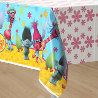 TROLLS PLASTIC TABLECOVER BIRTHDAY PARTY TABLECLOTH