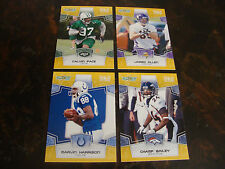 2008 Score Football---Gold Zone---Lot Of 4---All #/400---Multi-Lots---See List