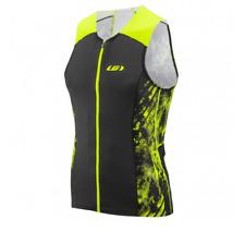 Louis Garneau Pro Carbon Triathlon Top Men Black Yellow Size M