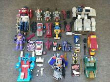 Vintage Hasbro G1 Transformers Metroplex, Headmasters, Dinobots Huge Lot!!!