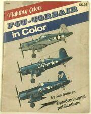 Vintage F4U Corsair Plane In Color Squadron Signal Marking Guide Magazine Book