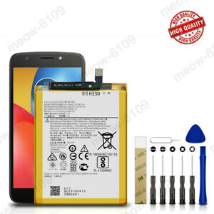 For Motorola Moto E5 Supra XT1924-6 Replace Battery HE50 SNN5989A + Adehesive