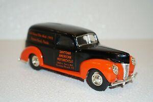 Ertl 1940 Ford Panel Van Diecast (52nd Daytona) 1:25 Scale Coin Bank 0675