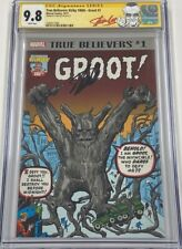 True Believers Groot #1 Tales to Astonish #13 Reprint Signed Stan Lee CGC 9.8 SS