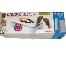 Psyclone Calorie Burn Kit for Nintendo Wii NIB Resistance Band/Weighted Gloves