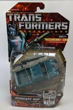 Transformers Generations Deluxe Class SERGEANT KUP Action Figure Autobot MOC