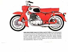 UHCA72DREAM Honda CA72 Dream Touring 250 Parts Manual