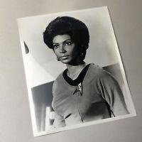 Vintage Nichelle Nichols Star Trek 8x10 B/W Promo Publicity Photo