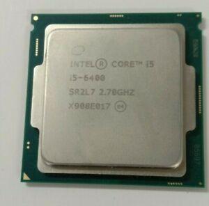 Intel Core i5-6400 2.7 GHz Quad Core SR2L7 CPU Processor LGA 1151 for desktops