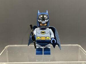 LEGO DC CLASSIC TV 1966 BATMAN MINIFIGURE 76052 BATCAVE ADAM WEST AUTHENTIC