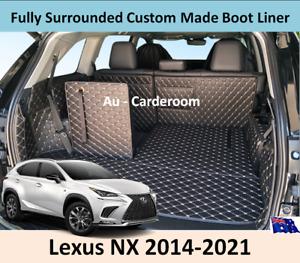 Premium Custom Made Trunk Boot Mats Liner Cargo Mat Cover For Lexus NX 2014-2021