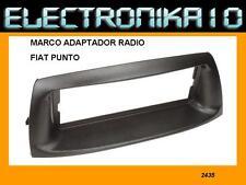 Panel marco  radio 1 Din Fiat Punto de 1999 al 2005 tamaño din