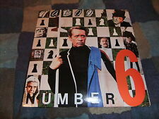 7 INCH SINGLE TABOO NUMBER 6 1988 PATRICK McGOOHAN THE PRISONER VINYL