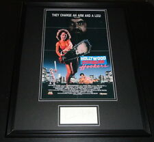 Linnea Quigley Signed Framed 16x20 Hollywood Chainsaw Hookers Poster Display