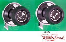 Fits RetroSound Radio ONLY- Knob Set (Pair) AMC/GM/Chevy Style RS-37-73