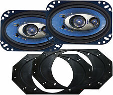 PL463BL JEEP Wrangler 1997 > 2006 240 Watt 3 way Front Speaker Kit PYLE